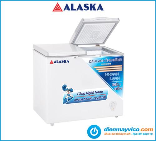 Tủ đông mát Alaska BCD-5568C 372 Lít