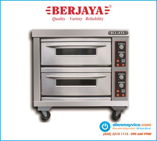 Lò nướng 2 tầng 4 khay Berjaya BJY-E13KW-2BD (dùng điện)