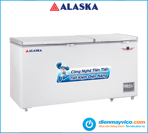 Tủ đông nắp dở Alaska HB-890 588 Lít giá tốt