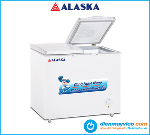 Tủ đông mát Alaska BCD-5568N 372 Lít