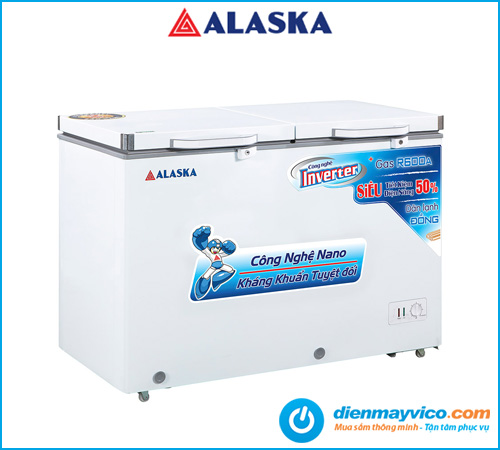 Tủ đông mát Alaska FCA-4600CI Inverter 267 Lít