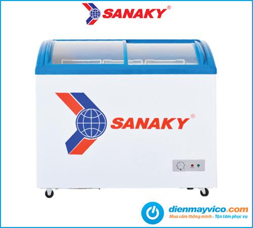 Tủ đông mát kính cong Sanaky VH-402KW 312 Lít