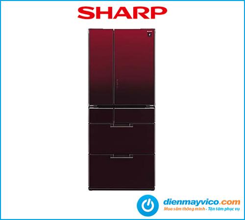 Tủ lạnh Sharp Invereter SJ-GF60A-R/T 470 Lít