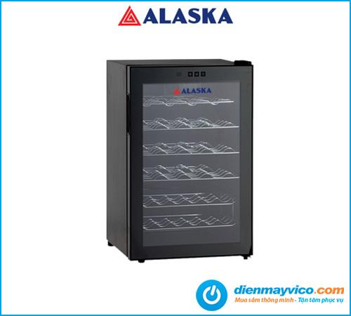 Mua tủ mát ướp rượu Alaska JC-28S giá rẻ chính hãng