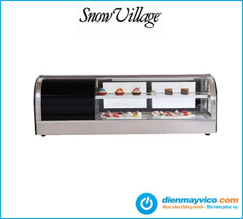 Tủ mát trưng bày Sushi Snow Village 1.5m
