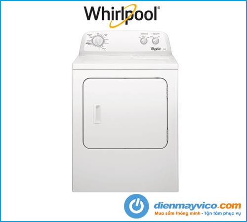 Máy sấy quần áo Whirlpool 3LWED4705FW 15Kg nhập khẩu, chính hãng.