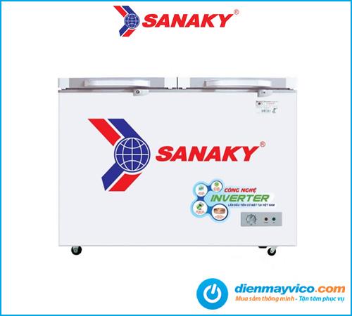 Tủ đông kính cường lực SANAKY VH-2899A4KD 235L