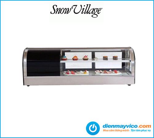 Tủ mát trưng bày Sushi Snow Village 1.2m