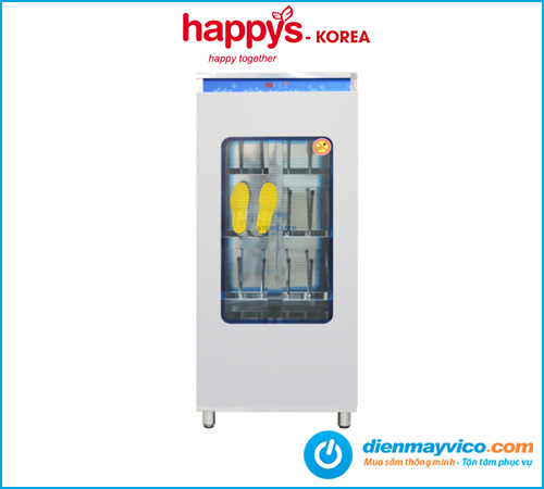Tủ sấy diệt khuẩn giày, ủng HAPPYS HPS-112SH08 hàng chính hãng.