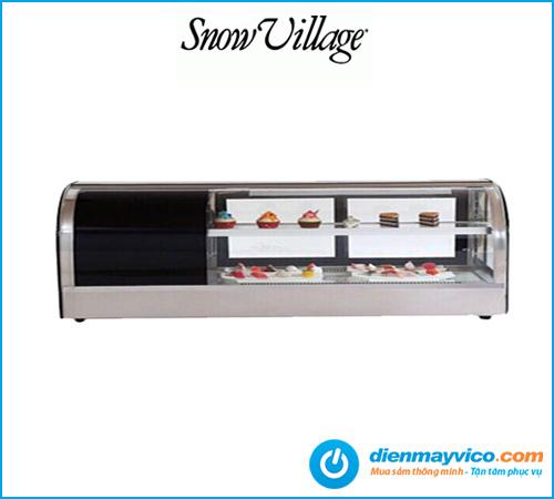 Tủ mát trưng bày Sushi Snow Village 1.8m