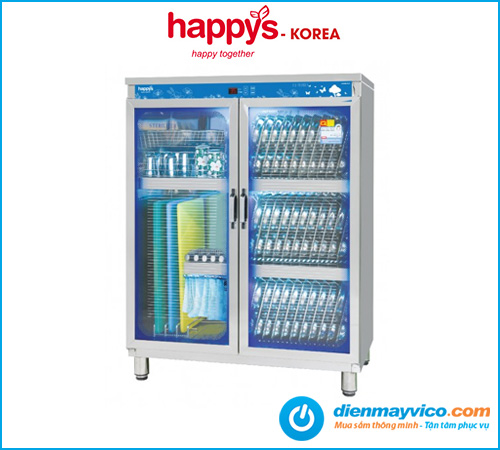 Tủ sấy khử trùng dao, thớt, ly, tách Happys HPS-102K