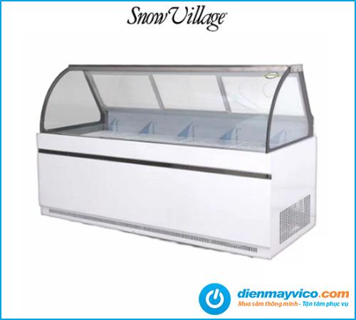 Tủ trưng bày thịt trên mát dưới đông Snow Village 1m6