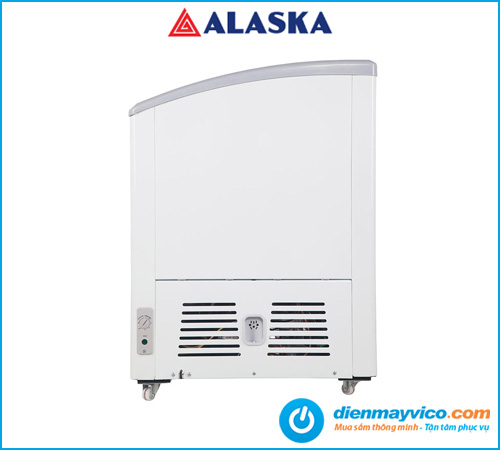 Tủ đông kính cong Alaska SC-501Y 368 Lít