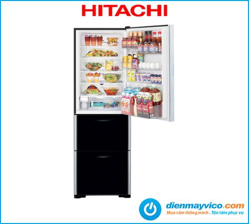 Tủ lạnh Hitachi Inverter R-SG38FPGV GBK 375 Lít