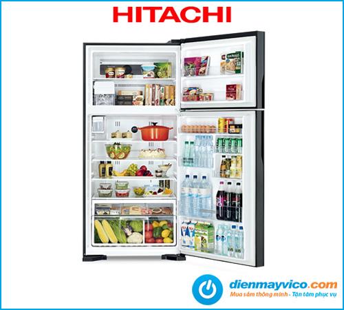 Tủ lạnh Hitachi Inverter R-VG615PGV3 GBK 510 Lít
