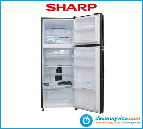 Tủ lạnh Sharp Inverter SJ-X430EM-BK 394 Lít