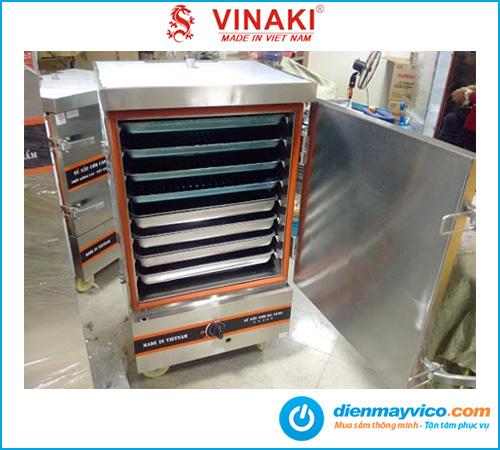 Tủ nấu cơm 8 khay dùng gas Vinaki