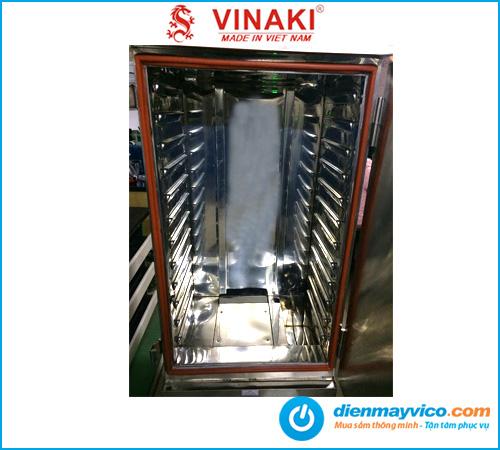 Tủ nấu cơm 12 khay dùng điện Vinaki