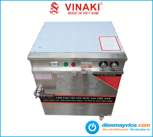 Tủ nấu cơm 4 khay mini dùng điện Vinaki