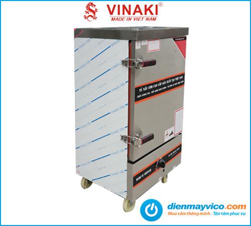 Tủ nấu cơm 12 khay dùng gas Vinaki