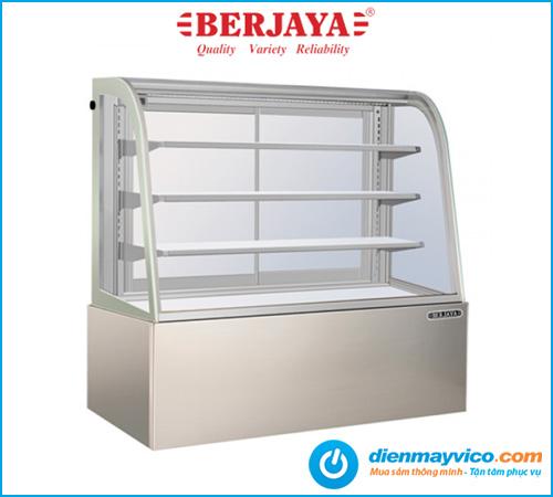 Tủ bánh kem kính cong Berjaya CCS-15SS-3 1m5