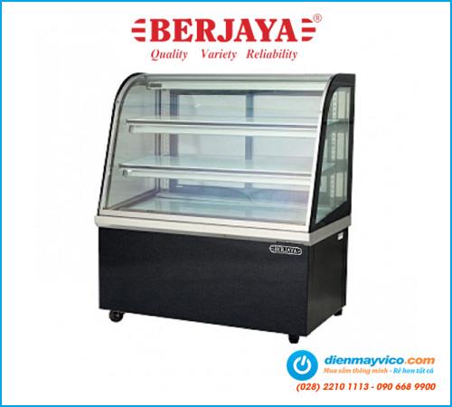 Tủ bánh kem kính cong Berjaya CCS12SB13-2FB 1m2