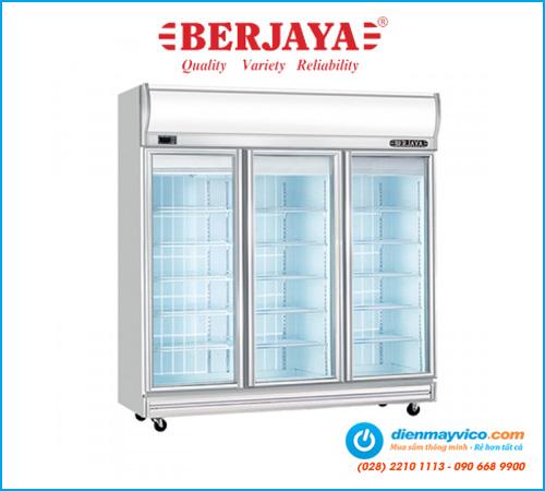 Tủ mát 3 cánh kính Berjaya 3D/DC-SM