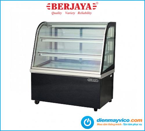 Tủ bánh kem kính cong Berjaya CCS18SB13-2FB 1m8