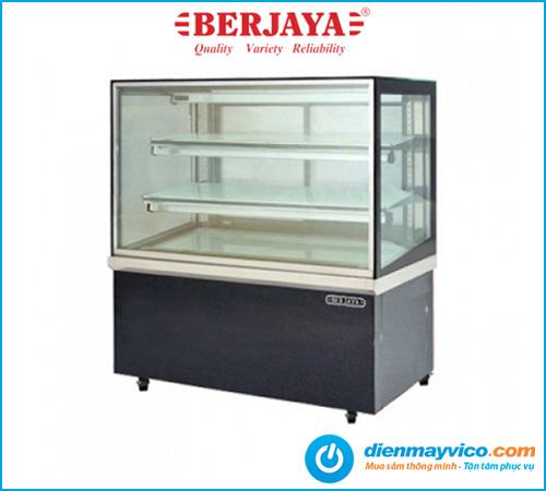 Tủ bánh kem kính vuông Berjaya RCS15SB13-2FB 1m5