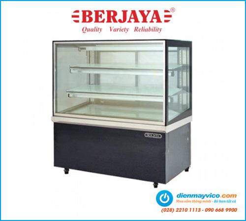 Tủ bánh kem kính vuông Berjaya RCS12SB13-2FB (1m2)