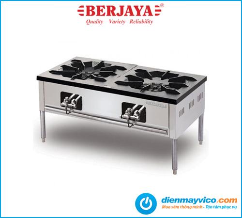 Bếp Á hầm thấp 2 họng Berjaya SP2-HP