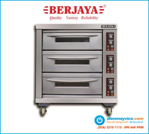 Lò nướng 3 tầng 6 khay Berjaya BJY-E20KW-3BD (dùng điện)