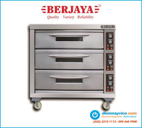 Lò nướng 3 tầng 9 khay Berjaya BJY-E25KW-3BD