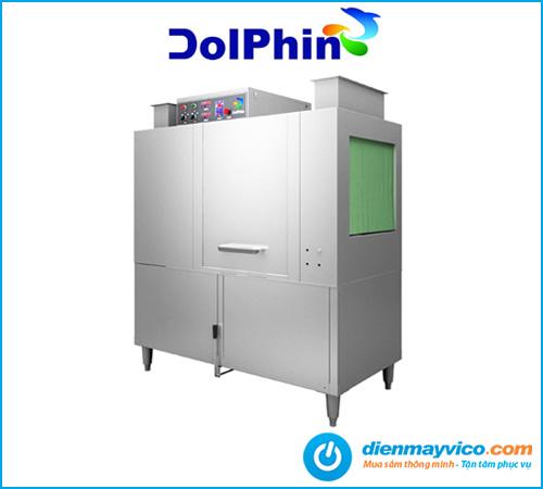 Máy rửa chén băng chuyền Dolphin DRC-1E