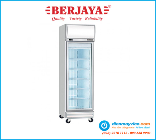 Tủ đông đứng 1 cánh kính Berjaya 1D/DF-SM-EV