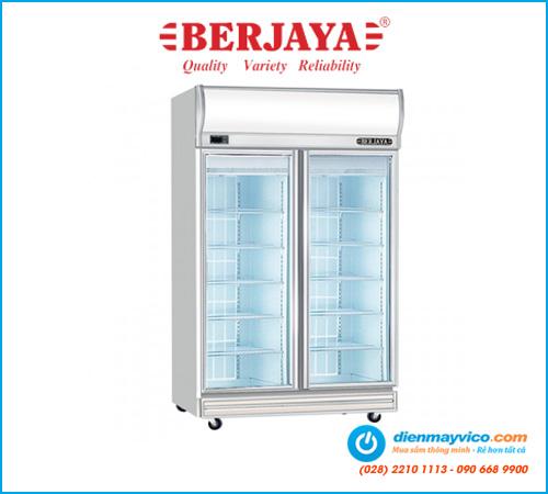 Tủ đông 2 cánh kính Berjaya 2D/DF-SM-EV 976 Lít