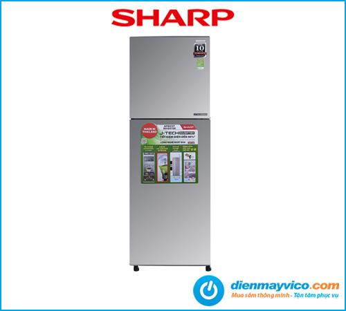 Tủ lạnh Sharp Inverter SJ-X251E-SL 224 Lít