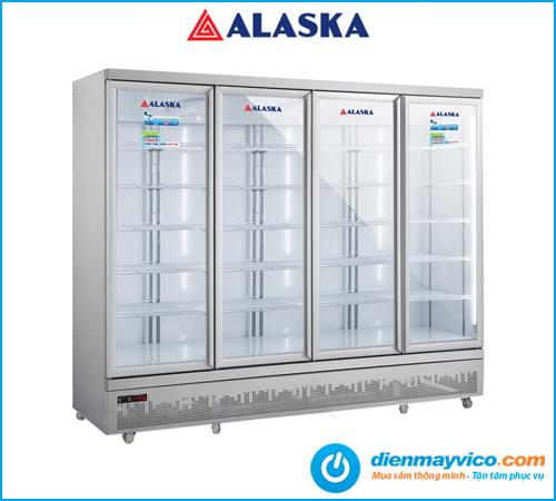 Tủ mát 4 cửa Alaska SL-24C4 2025 Lít chính hãng giá tốt