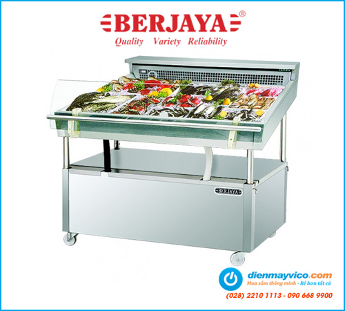 Tủ mát trưng bày hải sản Berjaya FDC4 (1m2)