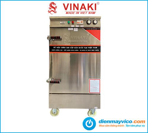 Tủ nấu cơm 8 khay dùng điện Vinaki