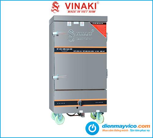 Tủ nấu cơm 10 khay dùng gas Vinaki