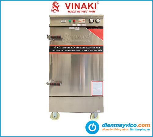 Tủ nấu cơm 10 khay dùng điện Vinaki