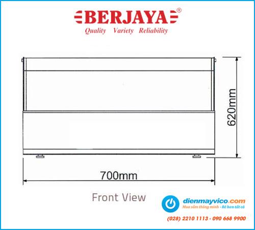 Tủ bánh kem để bàn Berjaya DC211