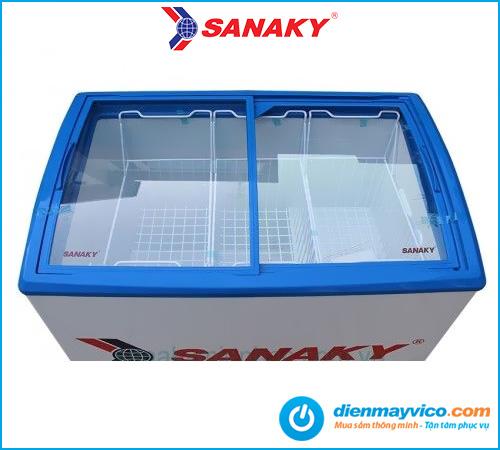 Tủ đông kính cong Sanaky VH-3899K