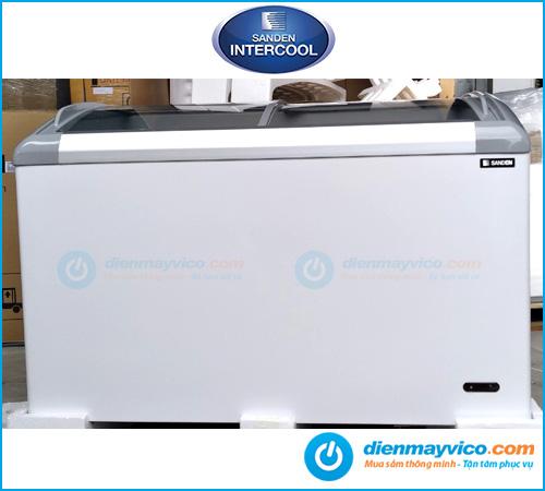 Tủ đông kính cong Sanden Intercool SNC-0435