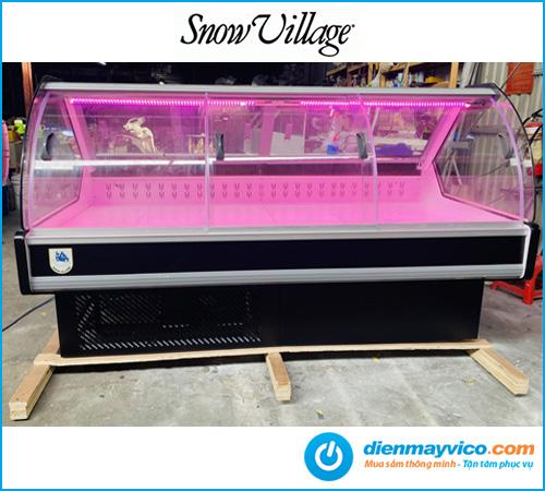 Tủ mát thịt nguội Snow Village Quạt lạnh 1.6m
