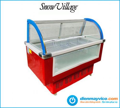 Tủ mát trưng bày thịt nguội Snow Village 1.3m