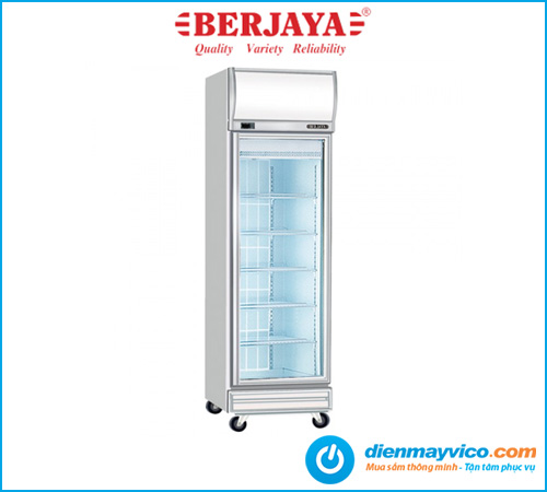 Tủ mát 1 cánh kính Berjaya 1D/DC-SM
