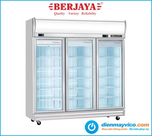 Tủ đông mát 3 cánh kính Berjaya 3D/D2C1F-SM