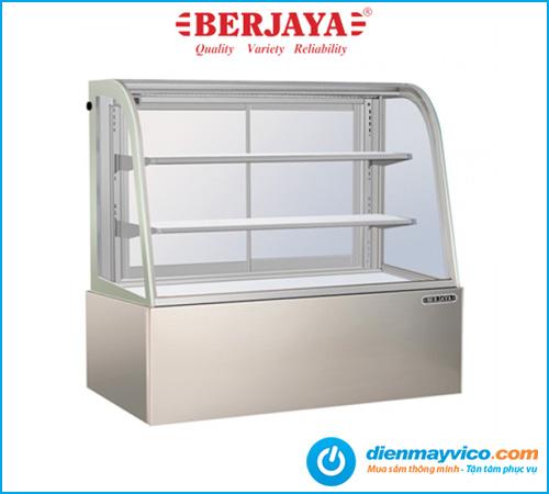 Tủ bánh kem kính cong Berjaya CCS-09SS-2 0.9m